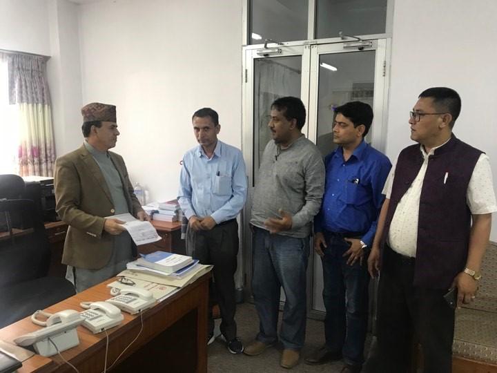 मुद्रण ब्यवसायका समस्या समाधानको माग गर्दै  एफएनपिए द्वारा सरकार समक्ष माग प्रश्तुत